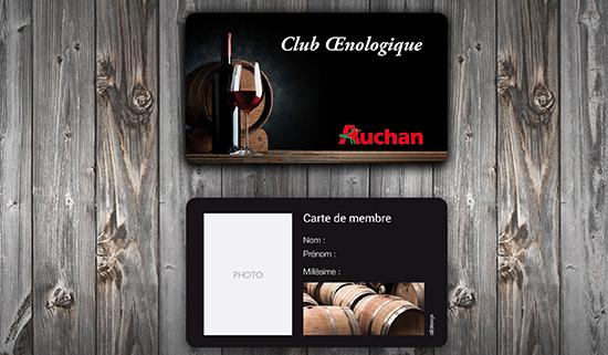 Club œnologique Auchan