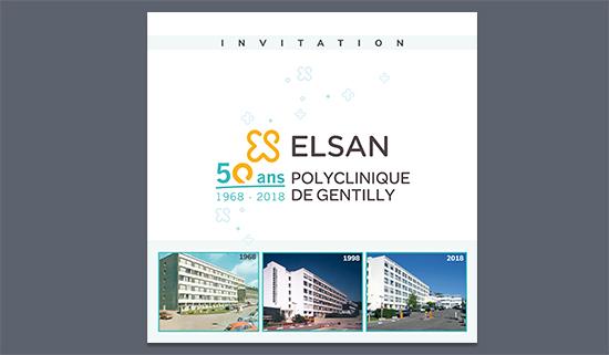 Carton d'invitation ELSAN